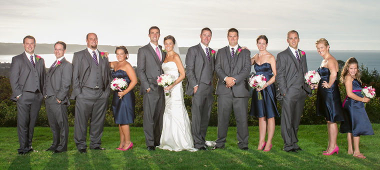 Wedding Group at Montauk Manor