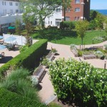 Montauk Manor, a condominium resort hotel — courtyard